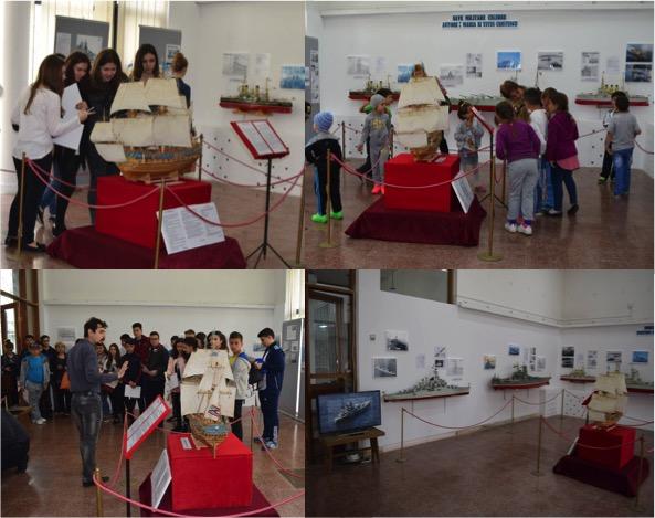 expozitie nave militare muzeul ialomita