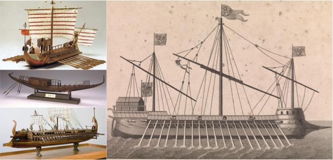 colaj nave maritime Mediterana
